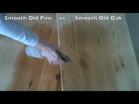 Wood Differences of Pine vs Oak