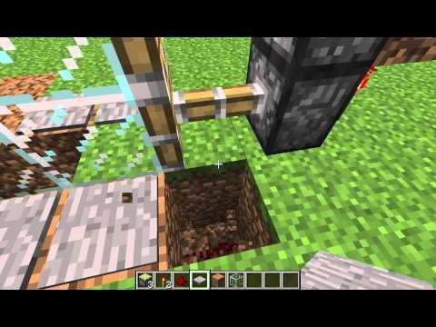 minecraft how to build automatic door