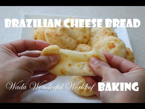 Brazilian cheese bread/Gluten free/ Pão de queijo/ Monica Wada/ Wada Wonderful World of Baking