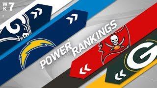 Week 7 Power Rankings   NFL