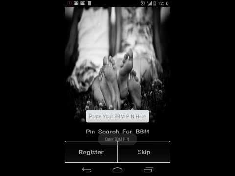 Pin Finder For BBM