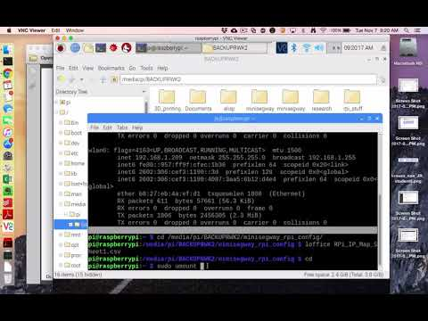 Raspberry Pi umount (eject) USB flashdrive - Raspbian Stretch