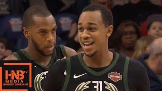 Milwaukee Bucks vs Philadelphia Sixers 1st Qtr Highlights / Jan 20 / 2017-18 NBA Season