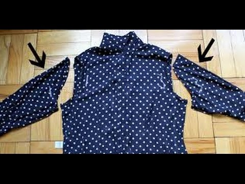 how to attach sleeves to kurti, kameez, blouse, tops, dress easy tutorial