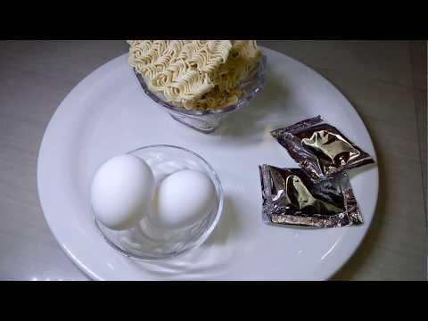 Egg Maggi Noodles   Egg Noodles Recipe   Egg Maggi masala Recipe   Bachelors Recipe street food