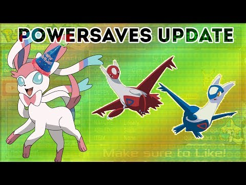 PowerSaves Update: Gender Changer, Pokerus and Sylveon