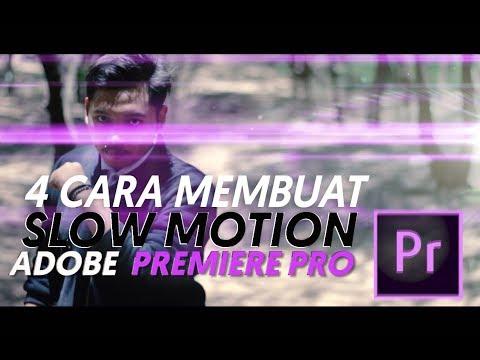 4 Cara Keren Membuat Slow Motion di Adobe Premiere Pro CC