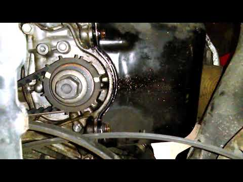 Resetting the timing belt on a 2002 Honda civic 1.7