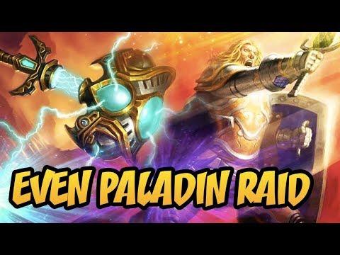 Hearthstone: Even Paladin Raid