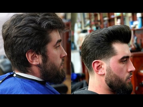 Haircut Tutorial: Low Taper with Pompadour