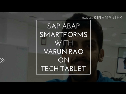 ABAP - Smartforms - Interview Questions - Tech Tablet