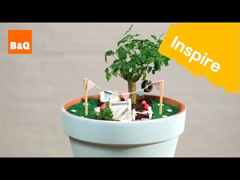Create a tiny garden