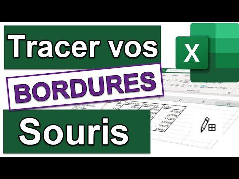 Les bordures dans Excel