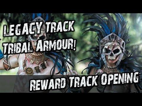 Legacy Reward Track PvP GW2 Tribal Armour