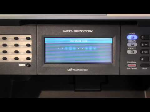 How to Set Up Wireless for the Brother™ MFC-9970CDW Printer
