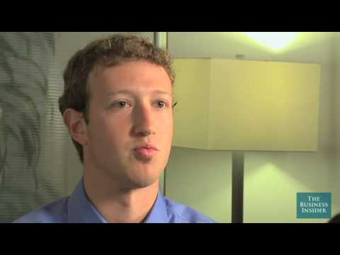 Mark Zuckerberg On The First Days Of Facebook