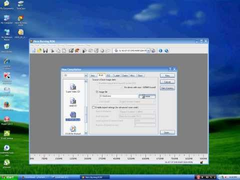 How to make a Bootable Windows XP CD using Nero Burning Rom