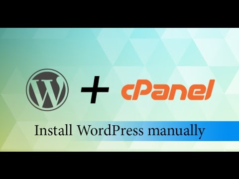 how to install a wordpress in cpanel  Urdu Tutorail