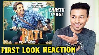 Pati Patni Aur Woh Kartik Aaryan First Look Reaction | Review