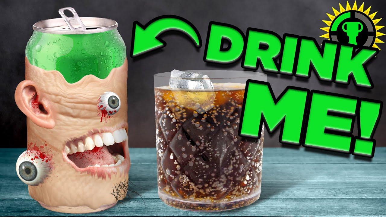 Game Theory: DRINK ME Dri̹̣̇̏n̲͙̒͒K͈̥̎̌̄͘ ṃ̛͊͗̒̋Ė̼̦̝̩̀͛̍ ̡̘͓̑͐͋D̐̀̀rIN̩͎̂͞k ḿ̖̰̒ē̛̗͒̂ (OnlyCans)