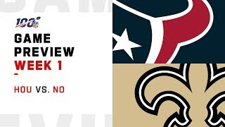 Houston Texans vs. New Orleans Saints | Week 1 Game Preview | Move the Sticks
