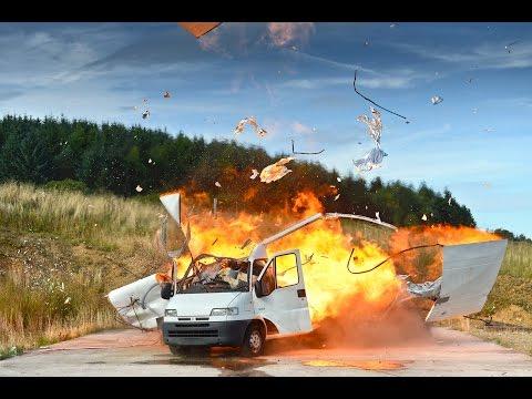Acetylene Van Explosion Research