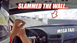 I Crashed My New Drift Car On THE FIRST DRIVE... (I SUCK)