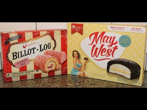 Vachon: Billot Log Sponge Cake and May West Cake Review