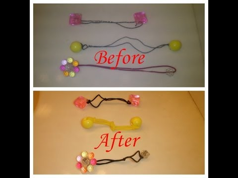 Fix Stretched Ponytail Holder Fast & Easy