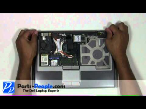 Dell Latitude D630   Touch Pad Palm Rest Replacement   How-To-Tutorial