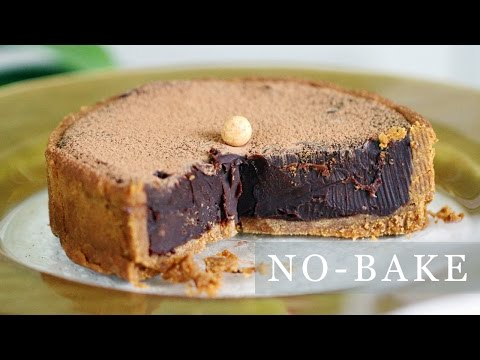 No-Bake Chocolate Pie Recipe - 5-Ingredient Tart 초코타르트 만들기