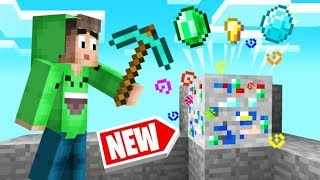 MINECRAFT With LUCKY Ores = *FREE* DIAMONDS!