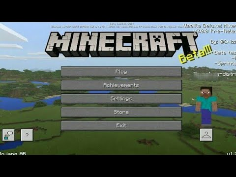 Minecraft 1.2 | MC 1.2.3 BETA BUULD 1 OFFICIAL UPDATE RELEASED!! + GAMEPLAY!! (Bedrock Edition)