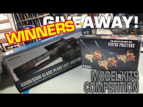 BIG KITS GIVEAWAYS: WINNERS DRAW!