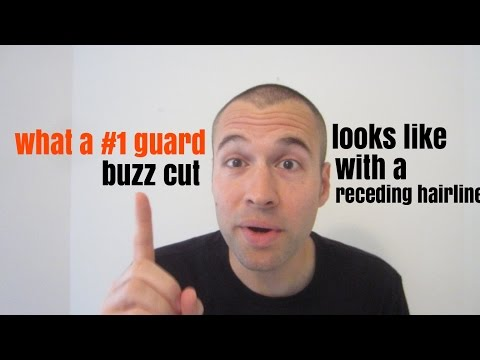 What a #1 Guard Buzz Cut Looks Like with a Receding Hairline