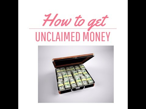 How to search for unclaimed money and property in California?
