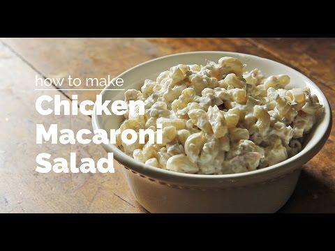 How to Make Chicken Macaroni Salad | Yummy Ph