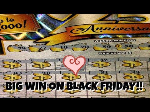 Big WIN On GA 25th Anniversary Ticket Scratching A Few Tn Lottery Scratch Offs