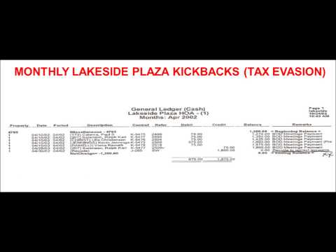 WASHOE COUNTY FRAUD: Lakeside Plaza HOA Reno, Nevada