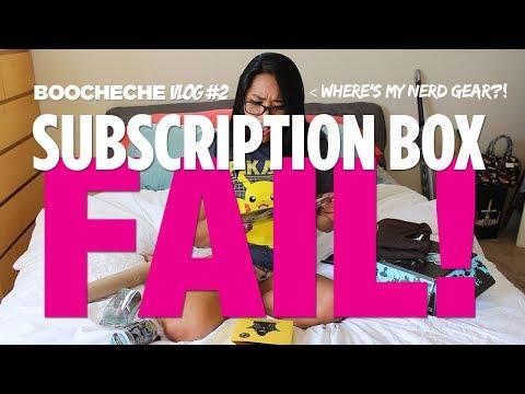 VLOG #2 -- Unboxing #fail