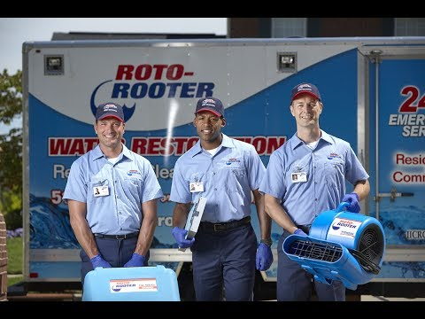 Roto-Rooter Water Damage Cleanup Service