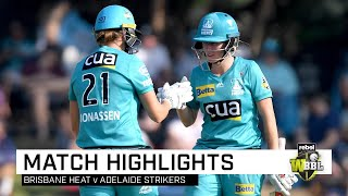 Heat stand tall to down Strikers in style | Rebel WBBL|05