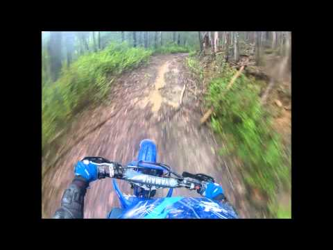 kx80 and wr250 trail riding (GoPro)