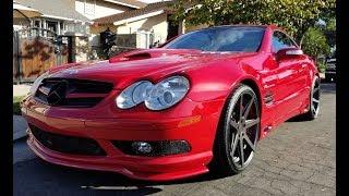 615HP RennTech 'Stage 6' Mercedes SL55 - One take