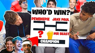 Who Is The YouTuber Boxing Champion?? (32 Top YouTubers)