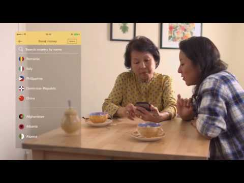 Western Union mobile app – how to send money to Philippines (UK)