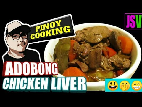ADOBONG CHICKEN LIVER, with CARROTS, POTATOES and BELL PEPPER