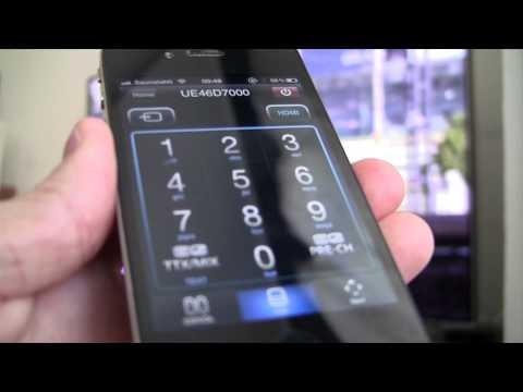 'Samsung Remote': das iPhone als TV-Fernbedienung