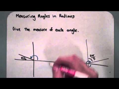 Measuring Angles in Radians (10-1-5)