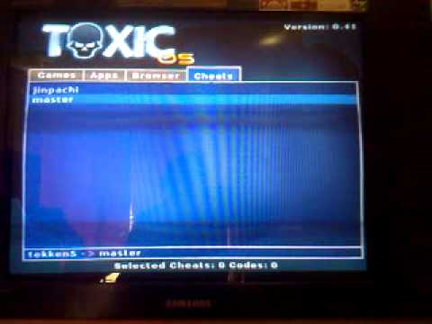 *TUTORIAL*How To Use Toxic Os 0.41 Cheat Engine For Ps2+Inputing Codes